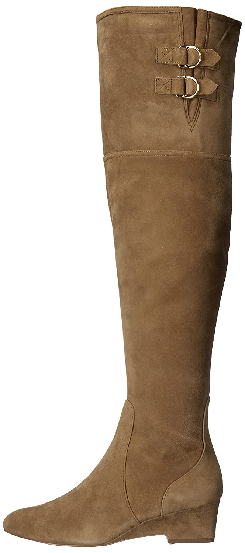 Nine West B01NA0AL51 Women's Jaen Leather Fashion Boot B01NA0AL51 West 9.5 B(M) US|Green 6baaab