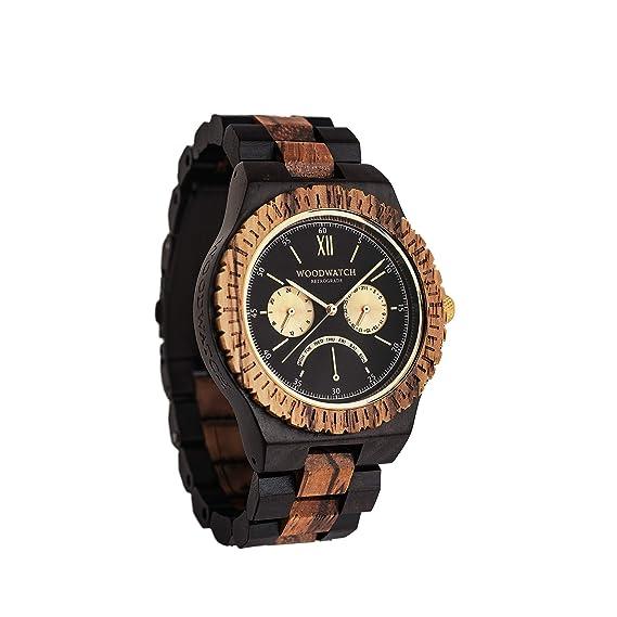 Madera Reloj Hombre   Retro Grade   Relojes de Madera Natural   la Wood Watch Relojes
