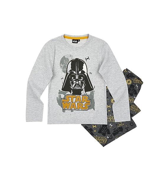 Star Wars - Pijama dos piezas - para niño gris 6 años