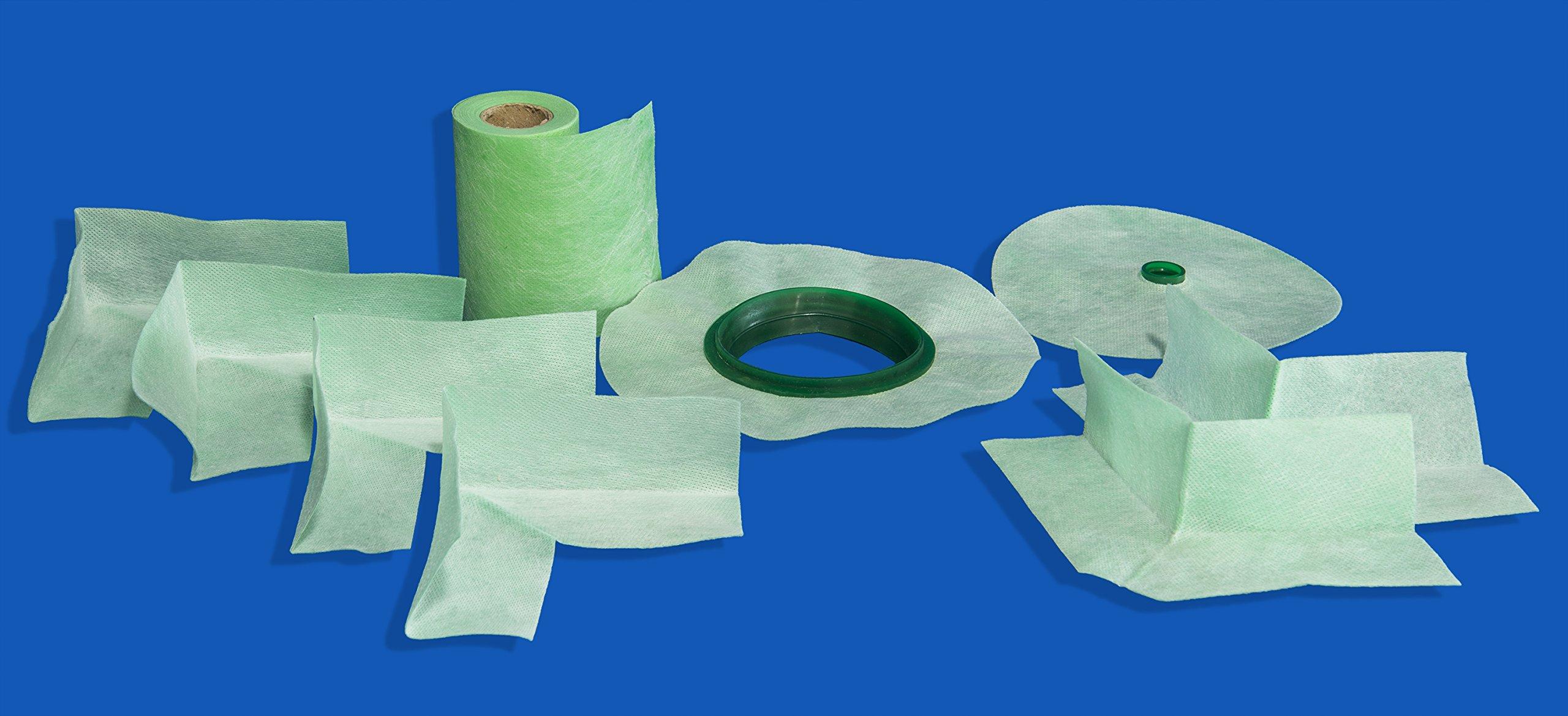 Tile Shower Waterproofing Fabric Membrane | Green Seal | By All Tile (Full Kit)