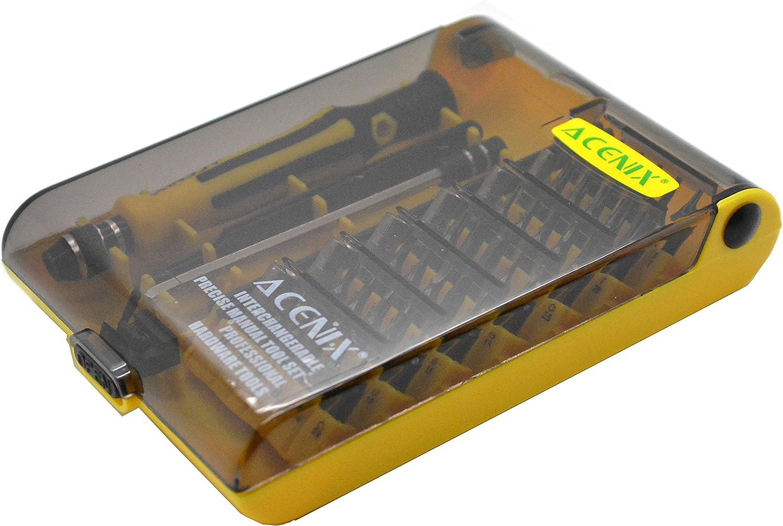 ACENIX/® Trousse Doutils Tournevis Trox Multi-Bit 45 En 1 De Pr/écision /Électronique Nouveau