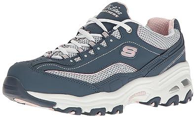 87bd5469f4f7 Skechers Women s s D Lites - Life Saver Low-Top Sneakers  Amazon.co ...