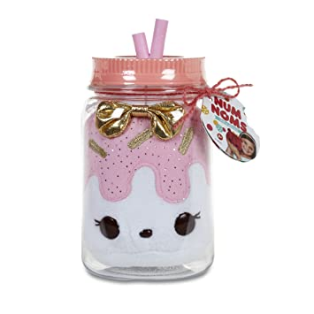 MGA Entertainment Num Noms Surprise in a Jar- Mrs. Icing Animales de Juguete Rosa