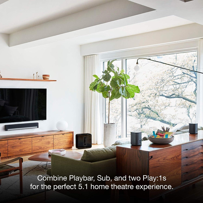 Amazon.com: Sonos PLAYBAR TV Soundbar/Wireless Streaming TV and ...