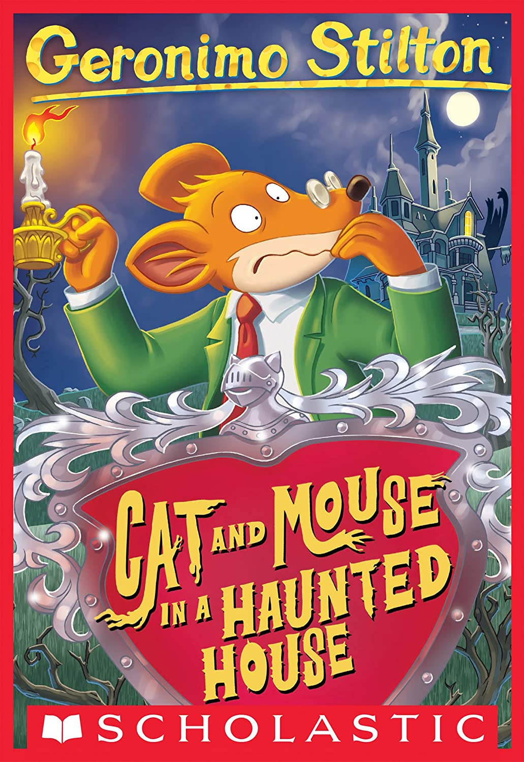 Geronimo Stilton #3: Cat and Mouse in a Haunted House (English ...