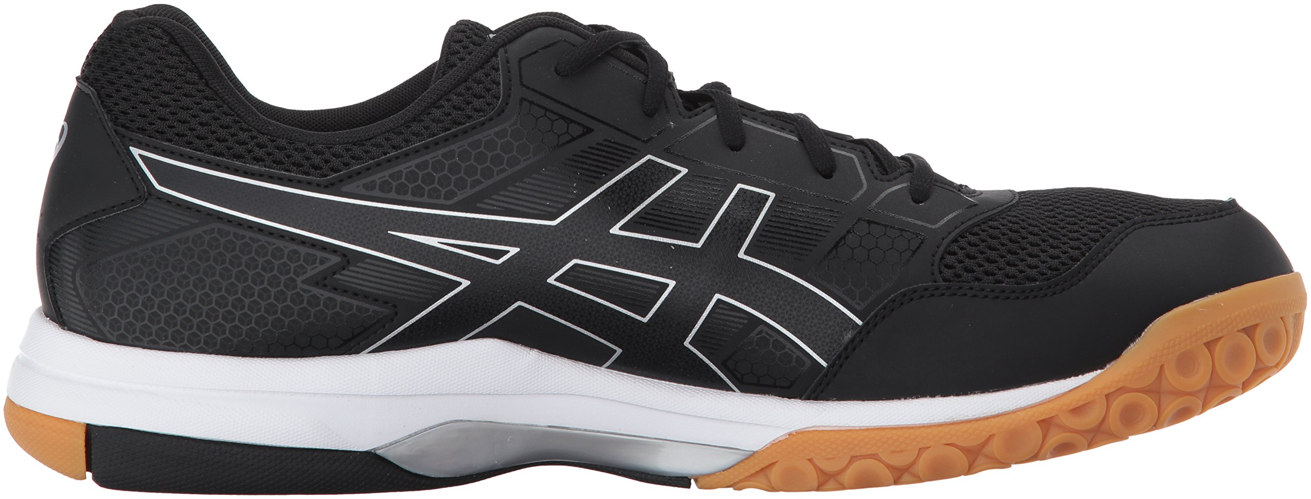 ASICS Mens Gel-Rocket 8 Volleyball Shoe Black/White, 7.5 Medium US by ASICS (Image #7)