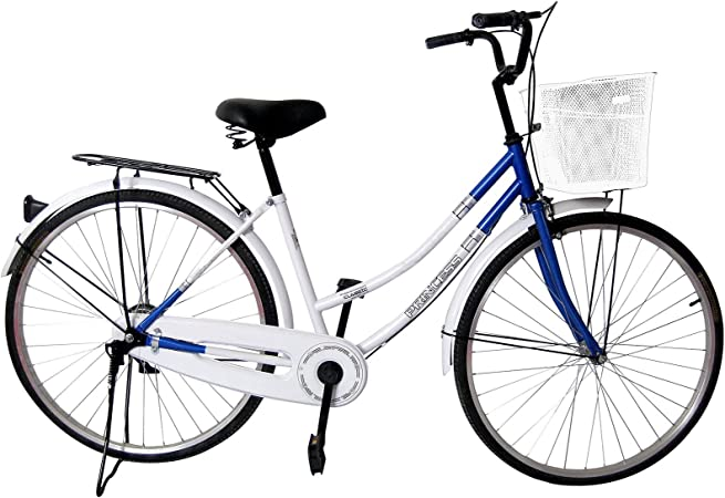 SVG Bicicleta de Paseo Princess Mujer Blanco/Azul 26