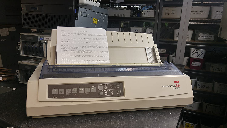 New - Oki MICROLINE 391 Turbo Dot Matrix Printer - 728473