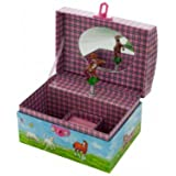 Amazoncom Enchantmints Hideaway Horse Music Jewelry Box Toys Games