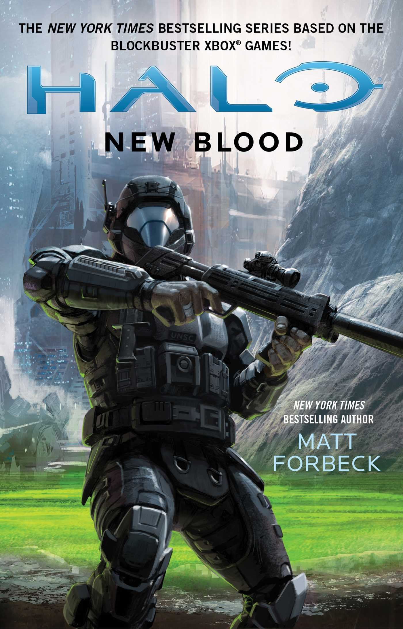 Amazoncom HALO New Blood 9781501128080 Matt Forbeck Books