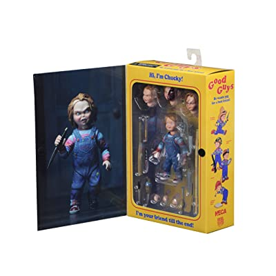 NECA - Chucky 4 inch Scale Action Figure - Ultimate Chucky: Toys & Games