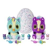 Hatchimals - 6044070 - Peluche interactive surprise - HatchiBabies Ponette