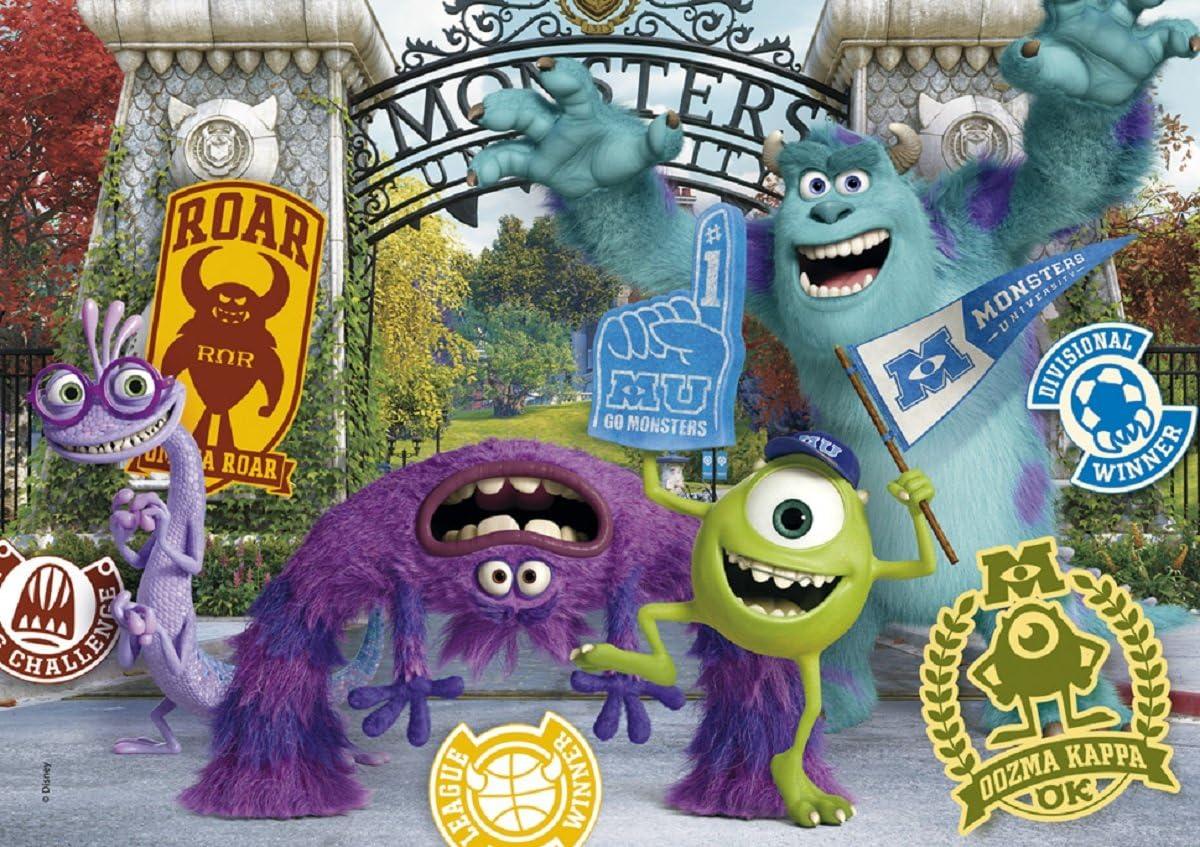 Clementoni - Puzzle Monster University Monstruos, S.A. de 104 ...
