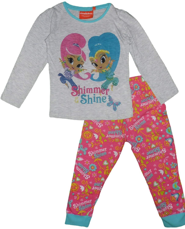 Shimmer /& Shine Girls 2 Piece Fleece Pajama Set