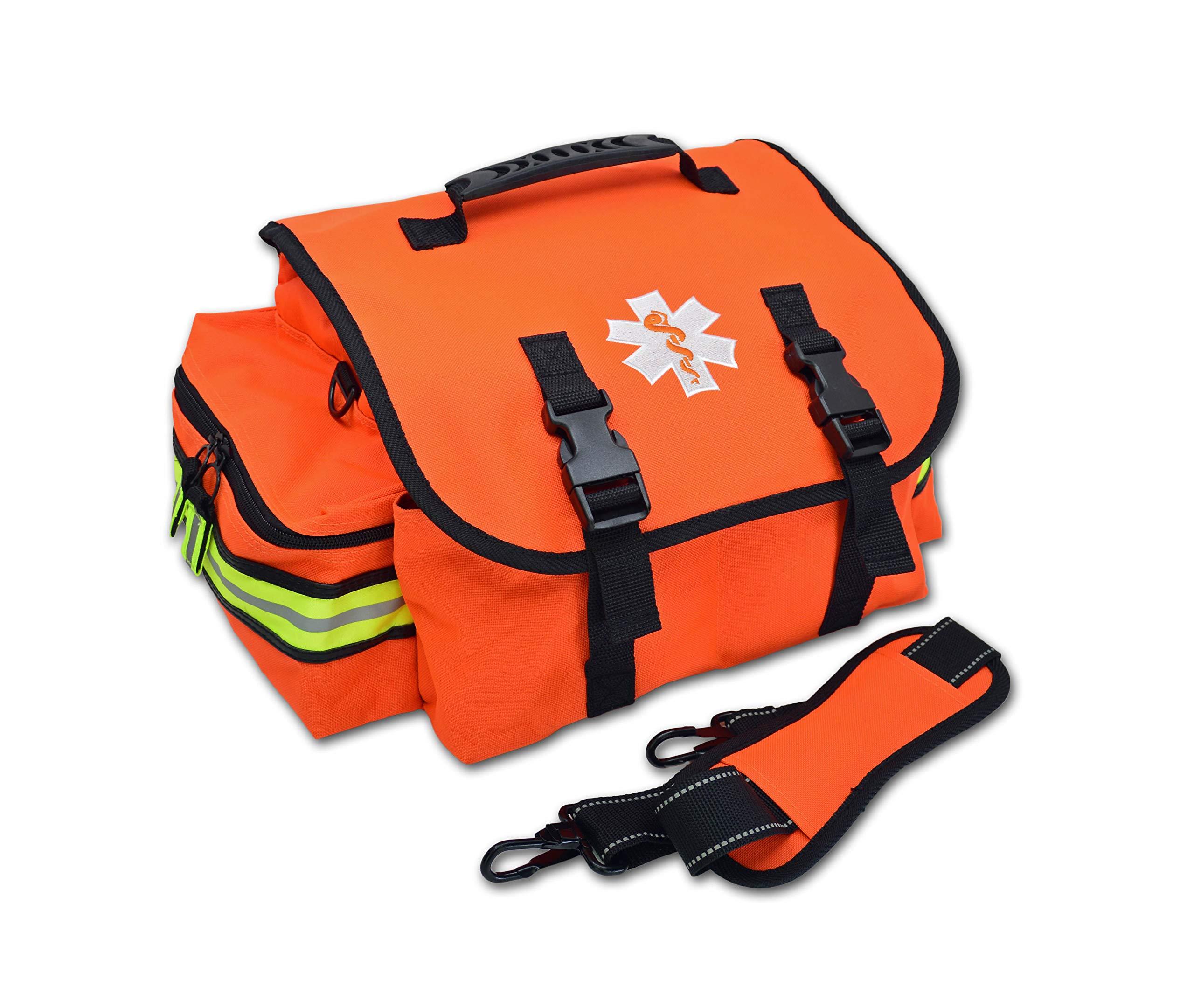 Lightning X Small EMT First Responder Bag w/Dividers - FLORESCENT ORANGE