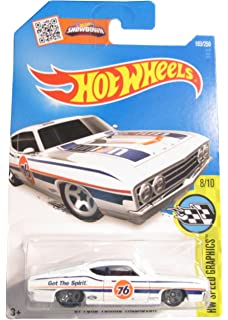 Hot wheels 1//64 Wht Toner Decals for /'69 Ford Torino Talladega HELLACIOUS 093