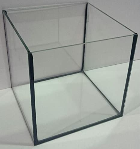 Acuario Cristal Platillos Dado (50 x 50 x 50 cm, cuadrado, 125 L