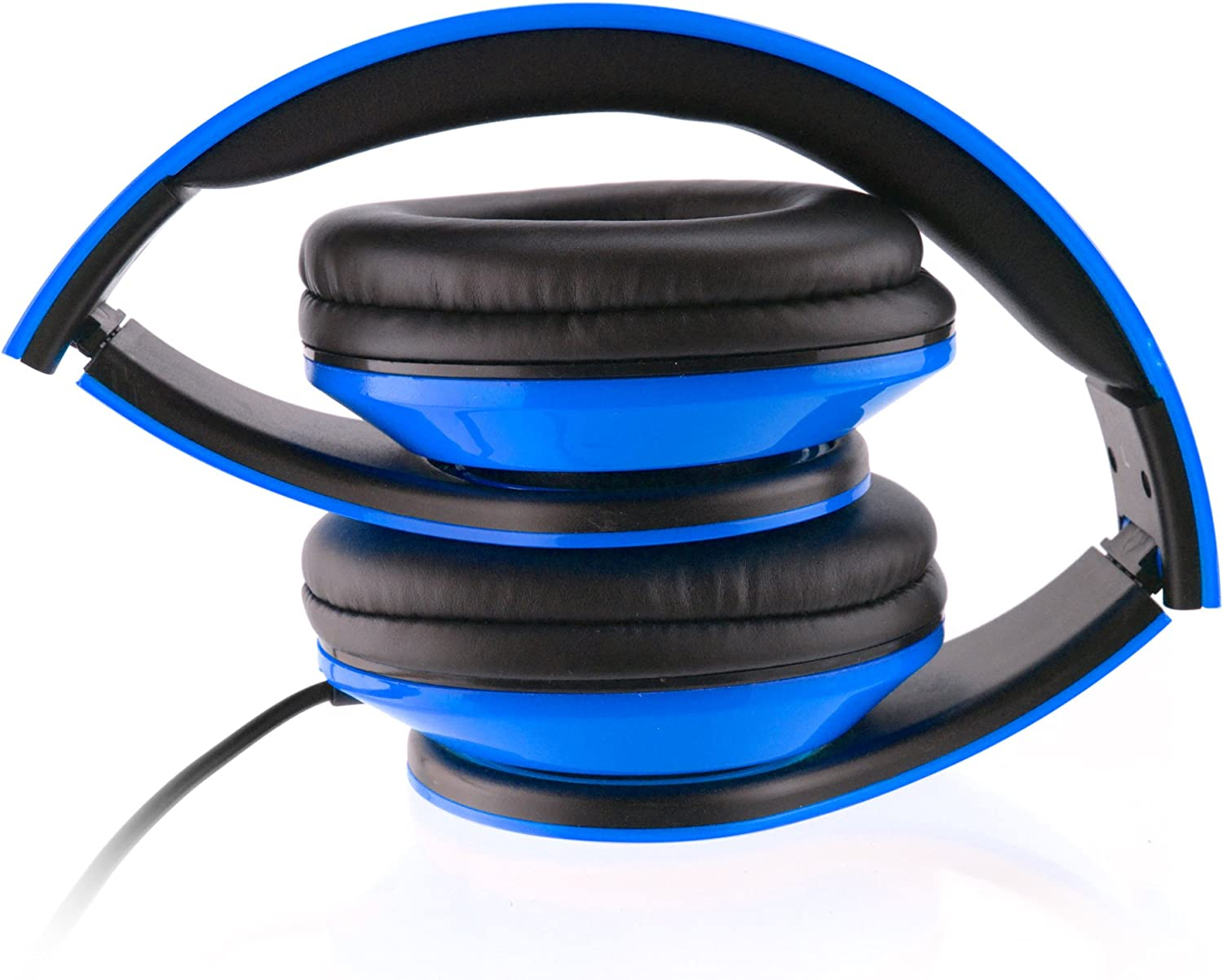 Blue Delton Sonic Wave DJ Headphones