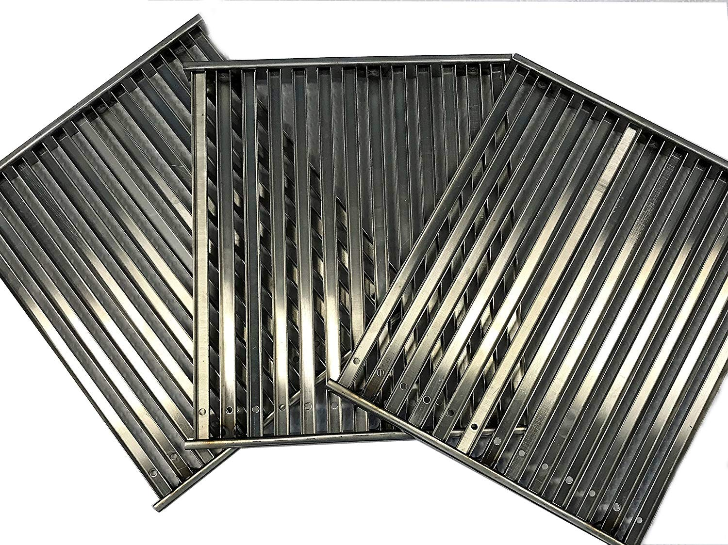TEC Infrared Gas Grill Factory Sterling III Cooking Grate Set (3) Grates 12.75'' Wide X 14.75''