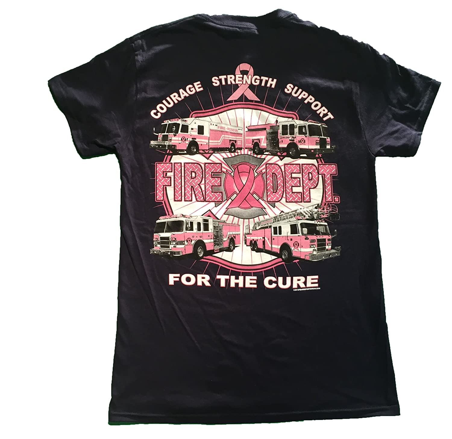 Amazon Com Fishers Sportswear Firefighter S For The Cure Breast