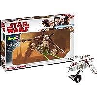 Revell- Star Wars Republic Gunship, Kit modele, Escala