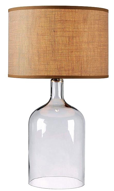 Amazon.com: kenroy Home Capri – Lámpara de mesa, 32261CLR ...