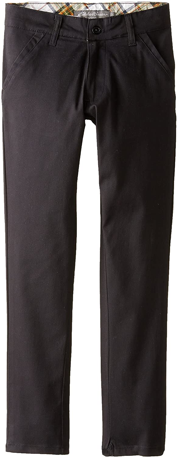 Eddie Bauer Big Girls' Twill Cotton Lycra Pant PH92