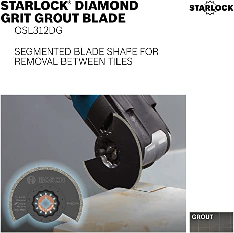 Details about  /MULTI TOOL BLADES Oscillating Plunge High Carbon Steel Diamond Grout Mortar Tile