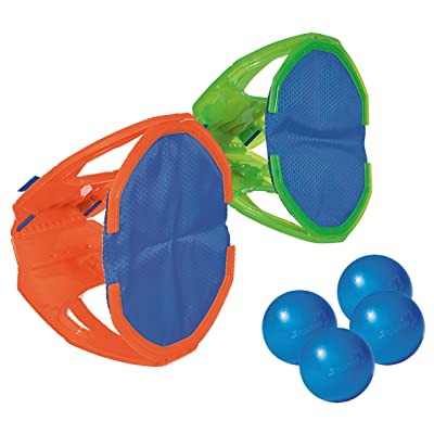 Diggin Squap Ball Toss Catch Game Set. 2 Paddle Mitts & 4 Balls: Toys & Games