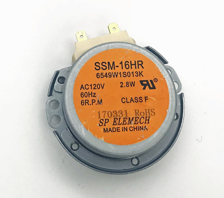 LMV1683ST OEM LG Microwave Turntable Motor for LMV1683SB MV1611BB LMV1683SW