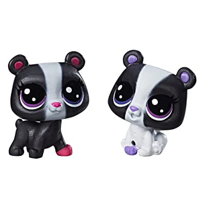 Littlest Pet Shop Black & White Bear BFFs: Toys & Games