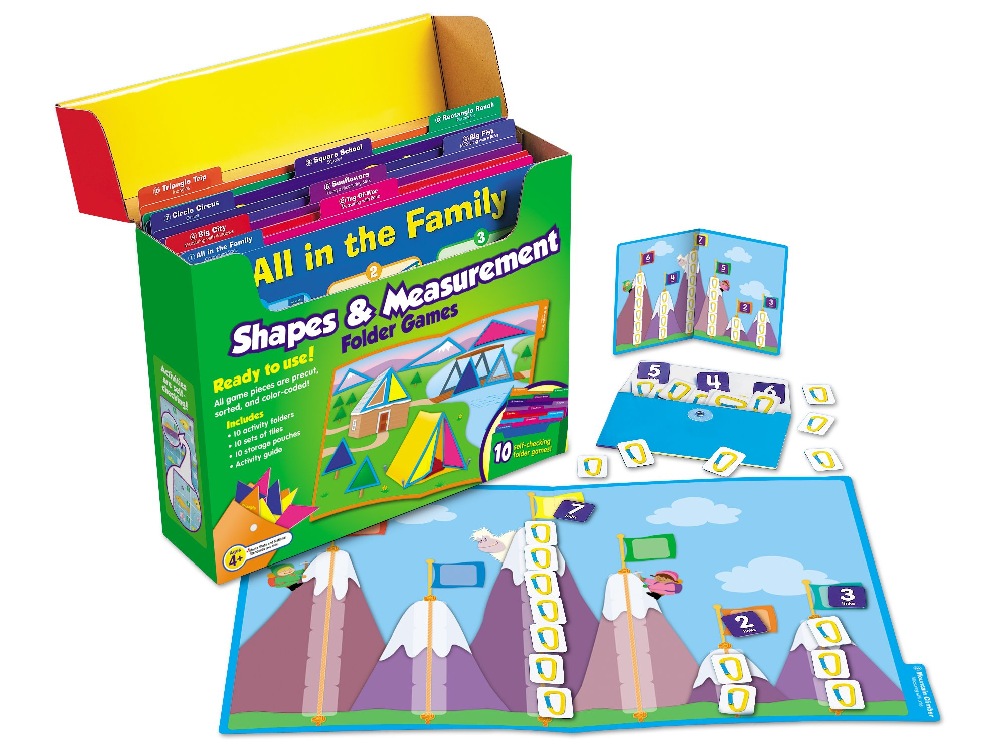 Lakeshore Early Math File Folder Game Libraries - Pre K-K - Complete Set by Lakeshore Learning Materials (Image #5)