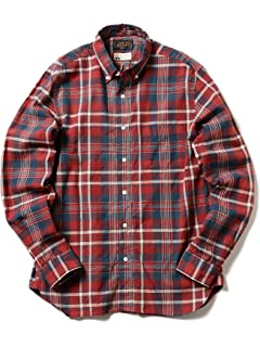 Madras Buttondown Shirt 11-11-5199-139: Red