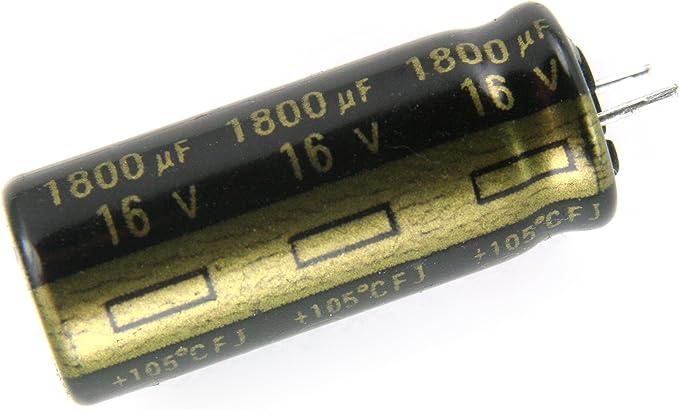 100Pcs 16V220UF 16V FC 8X11.5mm Panasonic 105 Capacitor Low ESR
