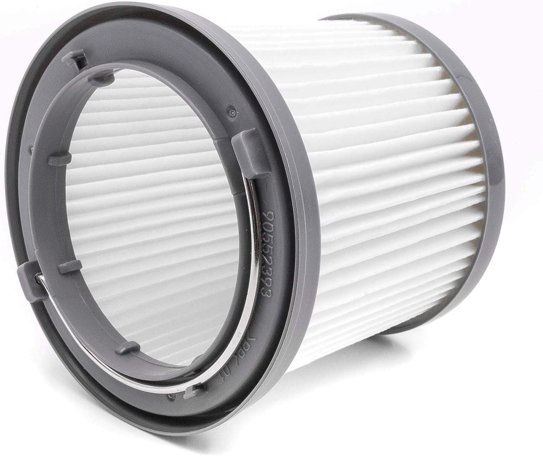 vhbw Filtro de cartucho para aspiradora Black & Decker Dustbuster Pivot PD1820LF, PV1210, PV1225, PV1225NB, PV1225NPM, PV1410: Amazon.es: Hogar