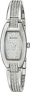 Bulova Women's 96L235 Swarovski Crystal Stainless Steel Watch