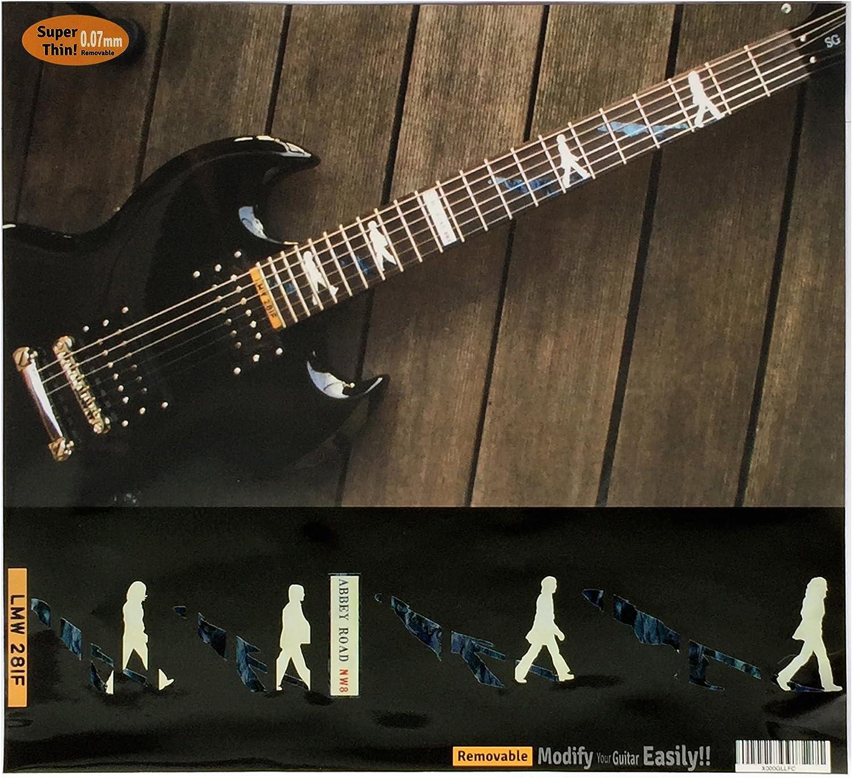 Diapasón marcadores Inlay adhesivo adhesivos para guitarra – Abbey ...