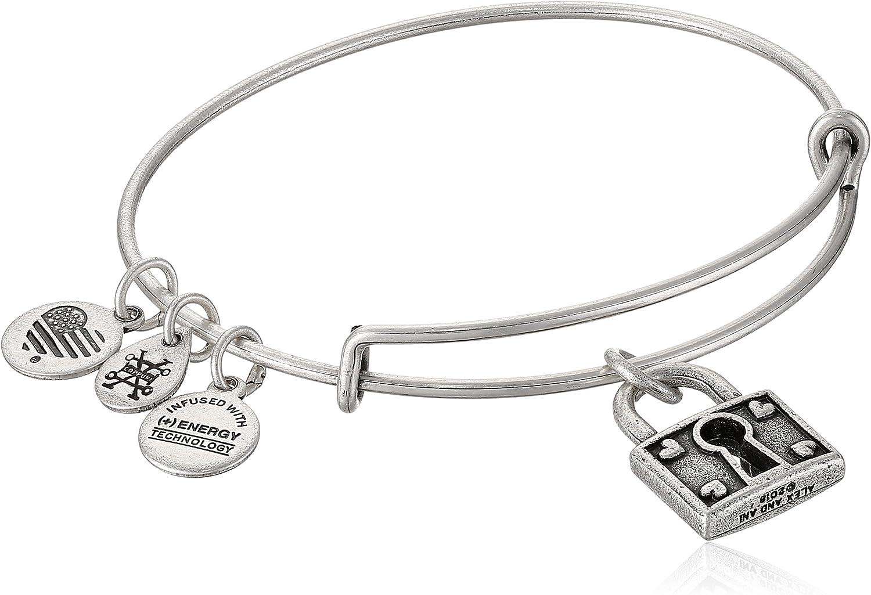 Alex and Ani Unbreakable Love EWB, Rafaelian Silver, Expandable: Jewelry