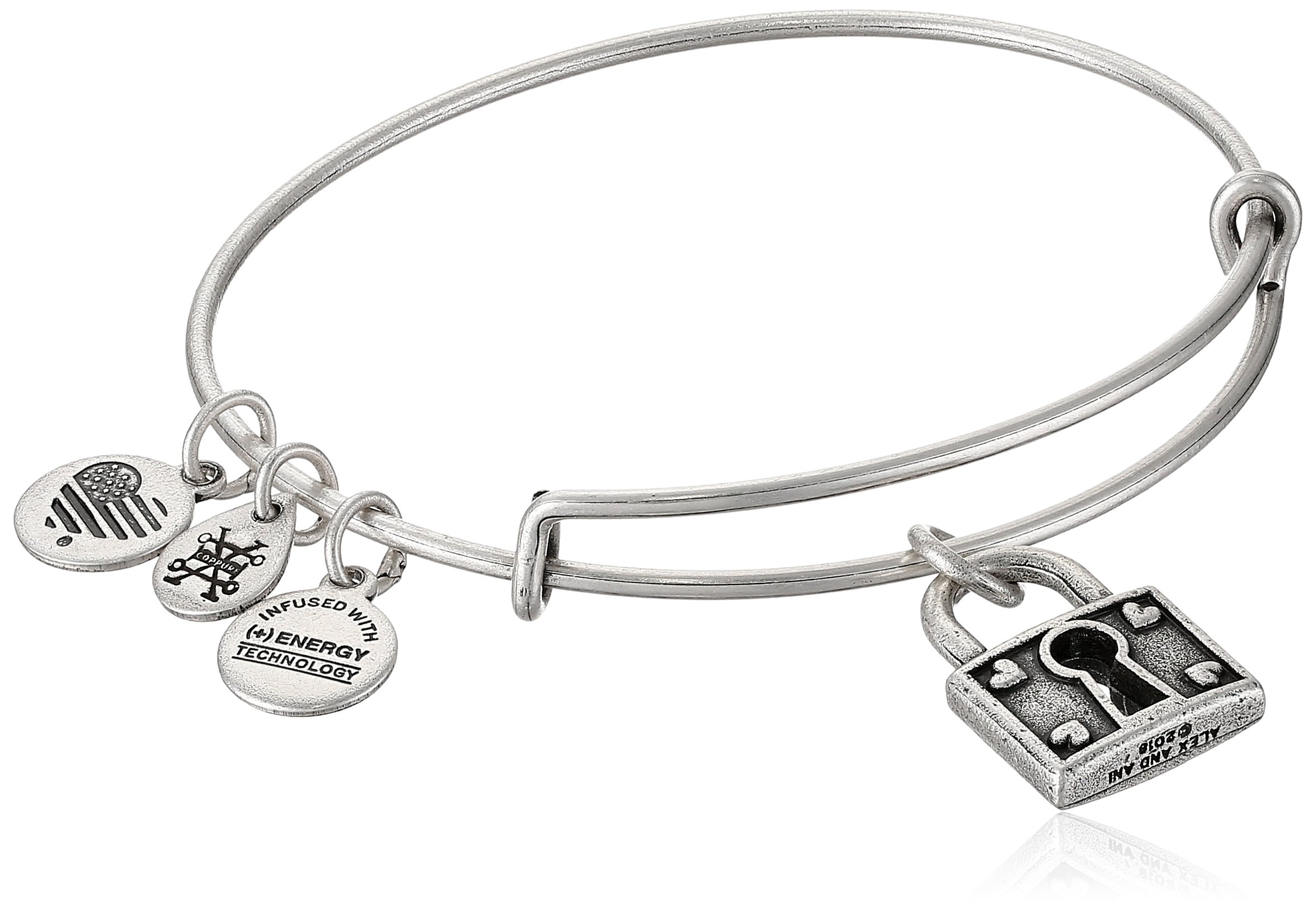 Alex and Ani Unbreakable Love EWB, Rafaelian Silver, Expandable by Alex and Ani