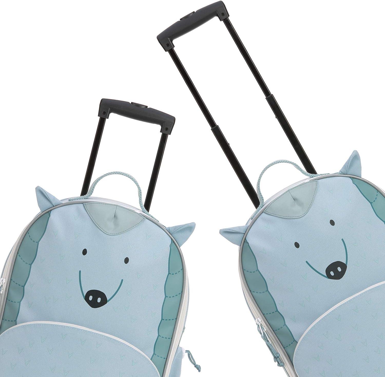 Schwein Bo Pig L/ÄSSIG Kinderkoffer Trolley Reisekoffer mit Teleskopstange und Rollen ab 3 Jahre//Trolley About Friends