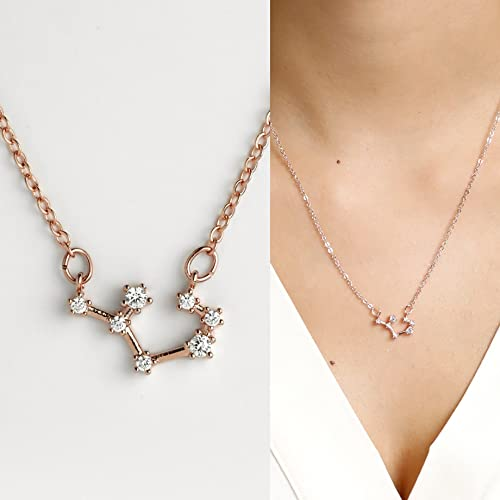 products jewelry grande katie scorpio necklace constellation diamond zodiac
