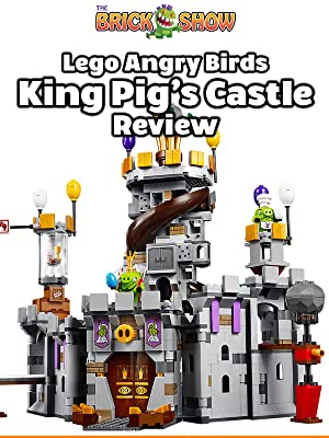 Amazoncom Watch Review Lego Angry Birds King Pigs Castle Review