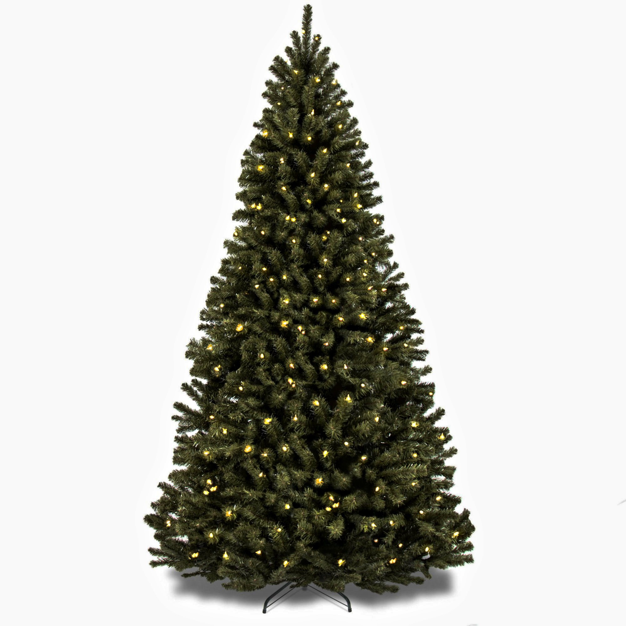 Artificial Christmas Tree. Fake 7.5 Foot Xmas Beautiful Premium Design Fir Looks Stylish With It's Classic Pine Shape, Dense Foliage, Tender White Needles. Great For Indoor Holiday Season Party Decor by Artificial-Christmas-Tree