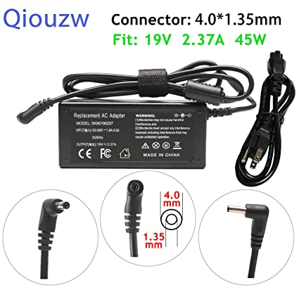 Amazon.com: 19V 2.37A 45W AC Adapter Charger for Asus ...