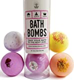 Bumble Road Bath Bombs - Natural Bath Bombs Gifts For Women, Mom, Girls, Teens, Her, Kids - Bath Bomb Gift Set - Bath Fizzies Fizzer - Best Gift Ideas - Lush Bath Bombs - Best Cheap Bath Bombs