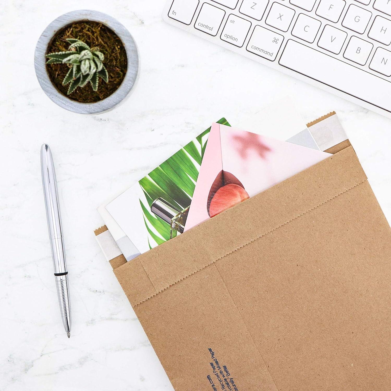 12-1//2 x 19 Self Seal Mailer 65658#6 Pack of 200 Jiffy Utility Mailer Natural Kraft
