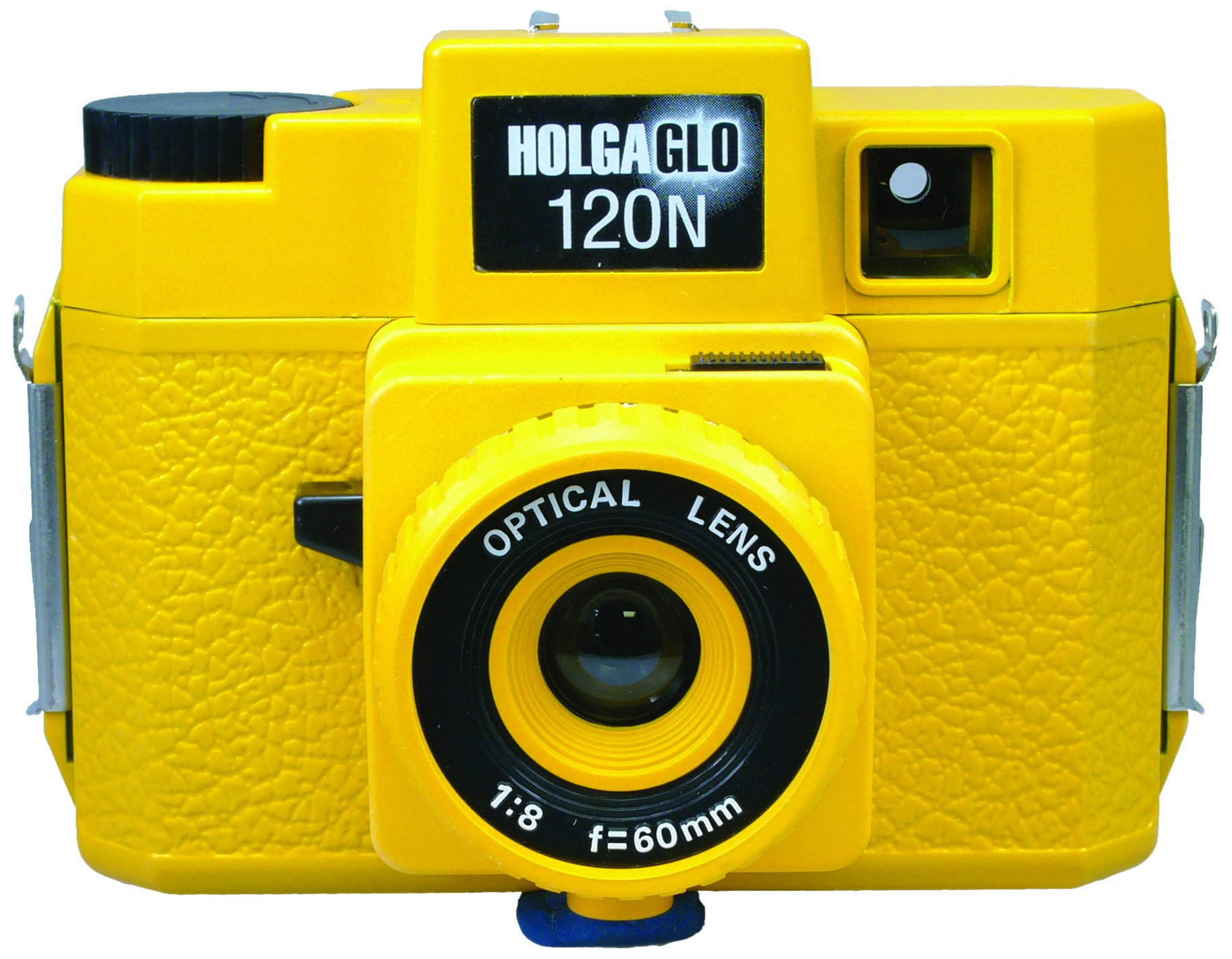 Holga 309120 Holga HOLGAGLO 120N Glow In The Dark Cameras (Solar Yellow) by Holga