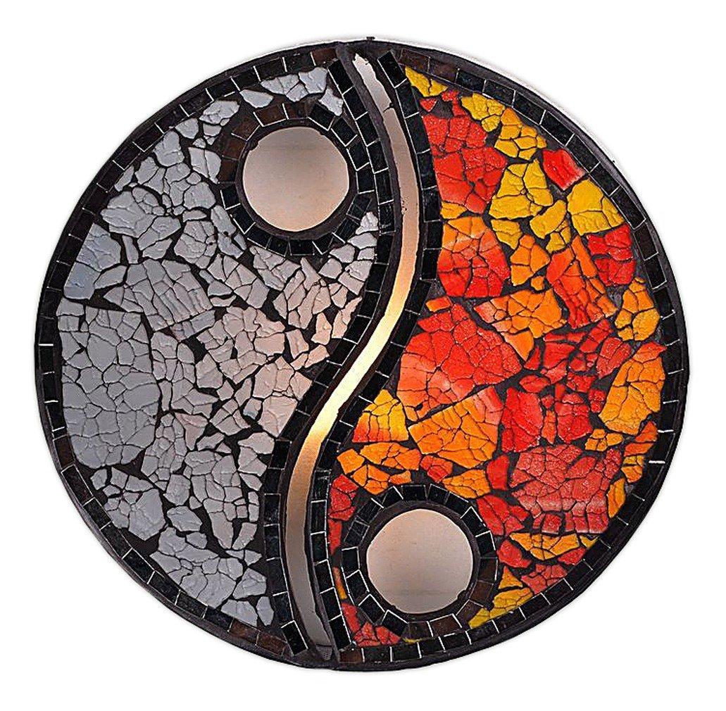 applique murale yin yang