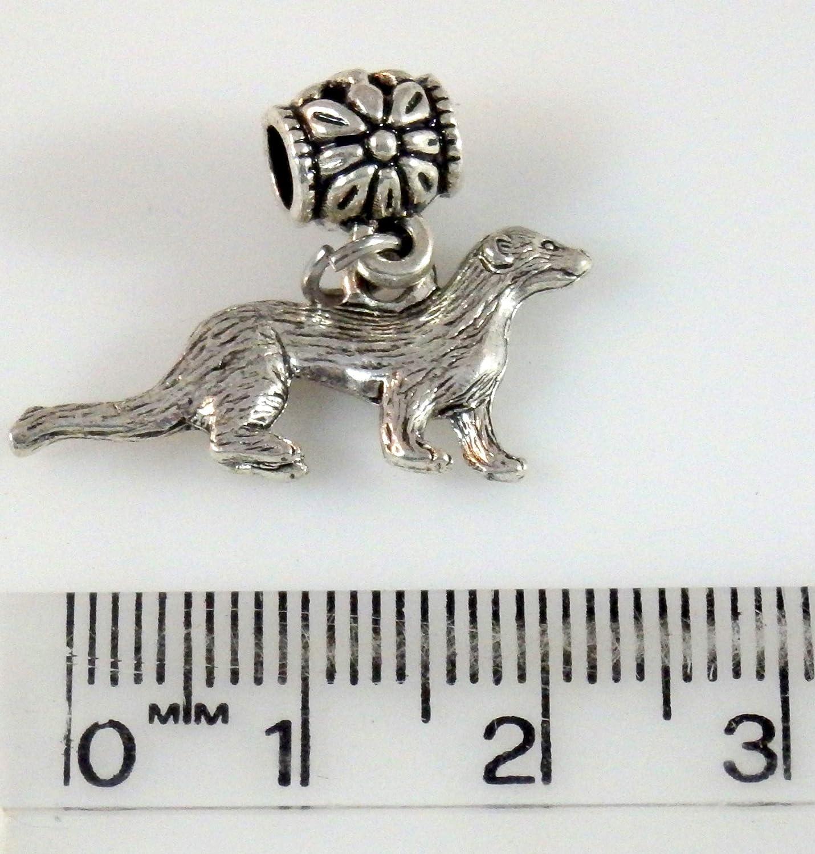 Ferret on a Bracelet Bail 1429