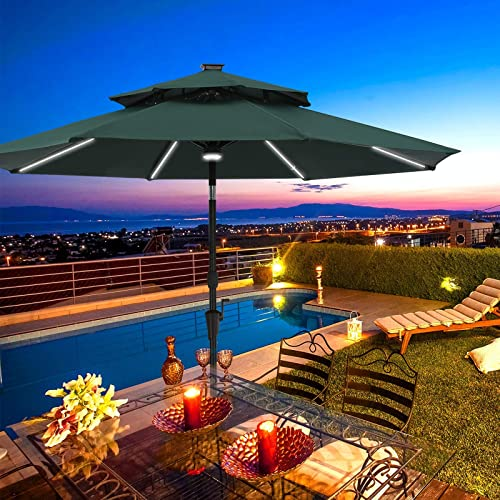 RINKMO 9ft Patio Umbrella